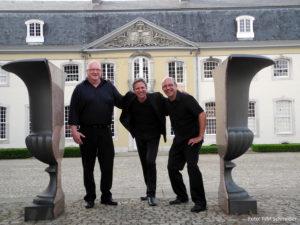 Alfred Krauss, Werner Lauscher, Johannes Flamm